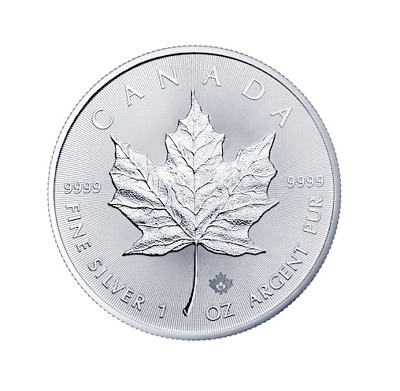 Maple Leaf 2014 1 OZ Unze Ounce Once Silber Silver Argent Kanada Canada