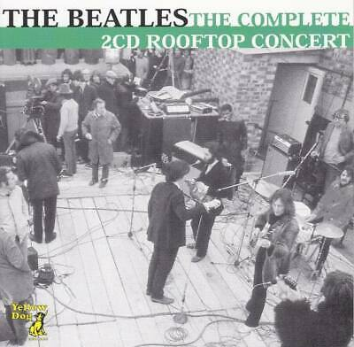 The Beatles Complete Rooftop Concert 42 Track CD 4 Discs Case Yellow Dog F/S