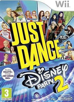Just Dance Disney Party 2 For Nintendo Wii Brand New Sealed