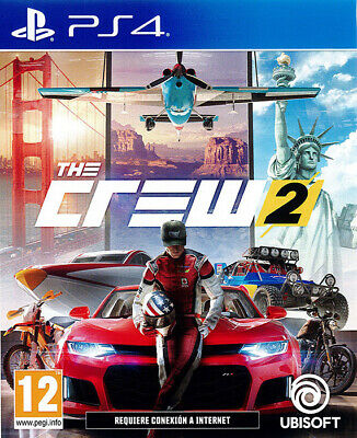 The Crew 2 Ps4 - Italiano - Playstation 4 - Ubisoft