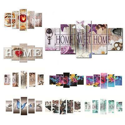 5Pcs Full Drill Family Love Letter 5D Diamond Painting Embroidery DIY Room Deco
