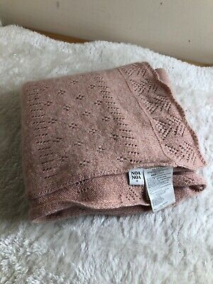 Noa Noa Beautiful Pink Wool / Cashmere  Scarf Pretty soft Long Spring