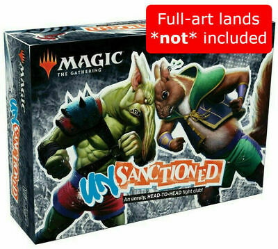 Magic the Gathering MTG Unsanctioned Box Set NO FULL ART LANDS Decks only
