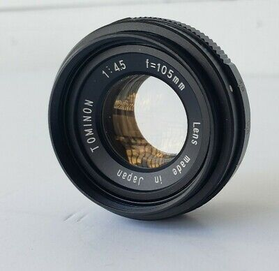 Tominon 1:4.5 F=105mm enlarging lens