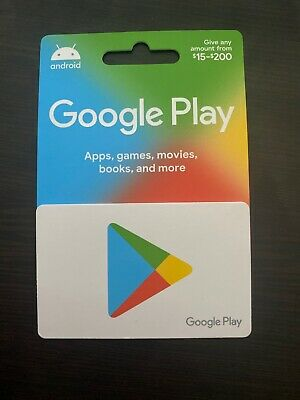 Google Play Gift Card $200 Value