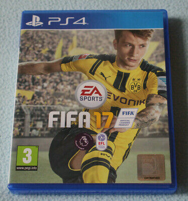 Fifa 17 EA Sports PS4 Sony PlayStation Game. Hardly played, Excellent Condition!