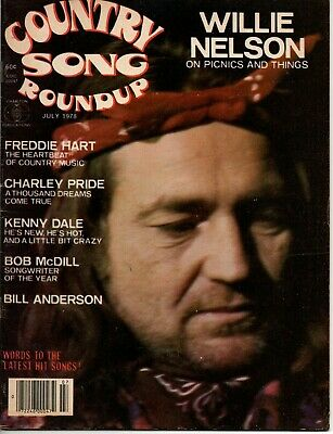 Country Song Roundup Magazine July 1978 Willie Nelson Freddie Hart T J Sheppard