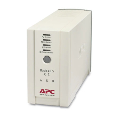 APC (BK650-AS) Back-Ups CS 650 230V
