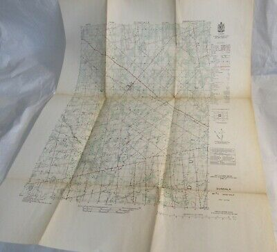 1950 Dundalk Ontario Canada Topographic Map Southgate Township Grey County OLD