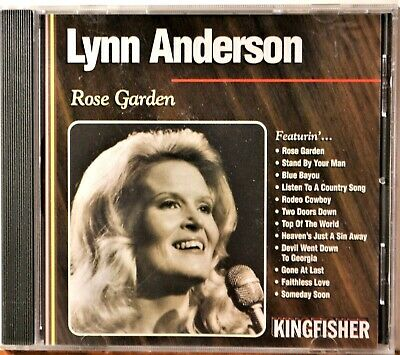 CD Lynn Anderson Rose Garden Blue Bayou Stand By Your Man Rodeo Cowboy   CLEAN