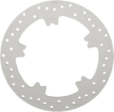 DRAG 1710-3155 Polished Stainless Front Brake Rotors