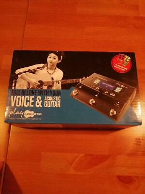 TC Helicon VOICELIVE Play Acoustic Vocal Harmony Guitar FX Effects Pedal
