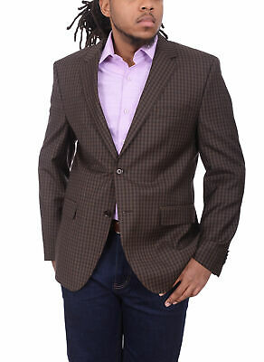 Hugo Boss The Smith Sports Coat With Patched Elbows 42L