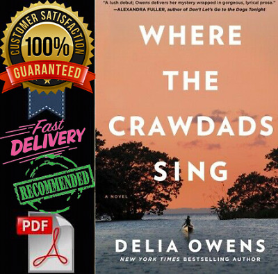 Where the Crawdads Sing by Delia Owens PDF fast delivery