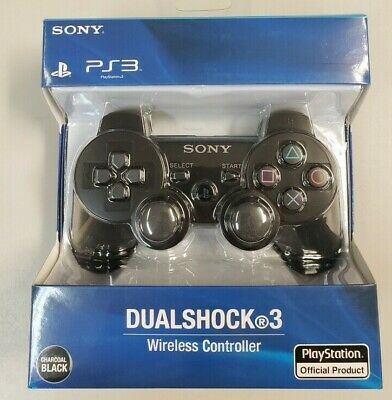 BRAND NEW Sony PlayStation 3 DualShock Controller Black PS3
