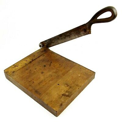 "Small Antique Guillotine No 1 Kodak 5"" Photographic Print Trimmer Cutter"