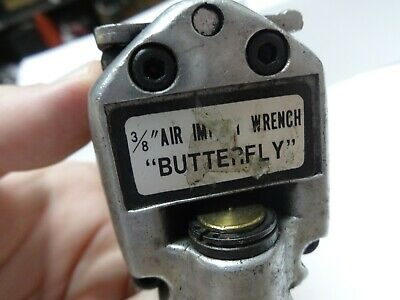 "Air Impact Wrench Butterfly 3/8"" drive"