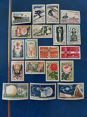 Timbres France neufs 1962