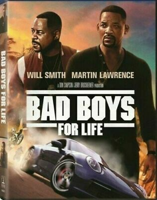 Bad Boys For Life (DVD 2019) NEW Factory Sealed Ships 4/28/2020