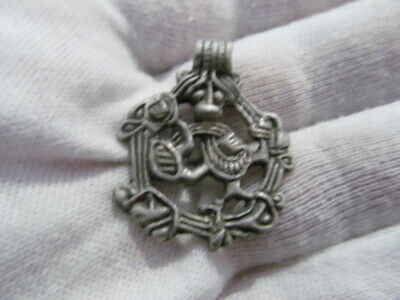Ancient silver amulet Vikings 8-11 AD № 693/4 (copy)