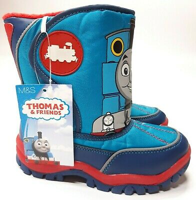 Marks & Spencer RRP £22 Thomas The Tank Engine Wellington Wellies Snow Boots M&S