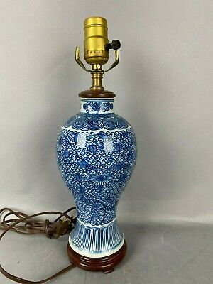 18th/19th C. Chinese Blue White Porcelain Vase