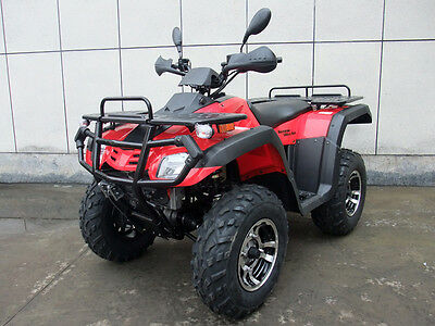 Workman 300cc 4x4 farm atv quad bike,ag bike Automatic shaft drive towbar,winch