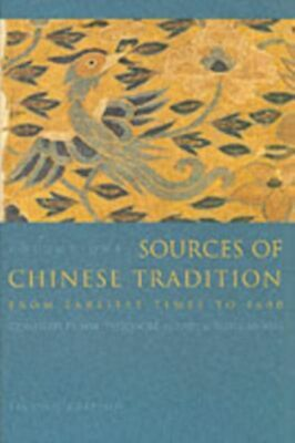 Sources of Chinese Tradition GC