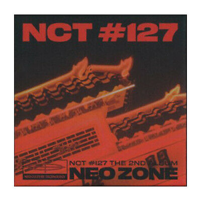 NCT 127 [NEO ZONE] 2nd Album KIT Ver. Kit+POSTER+Folding Photo+Card+GIFT SEALED