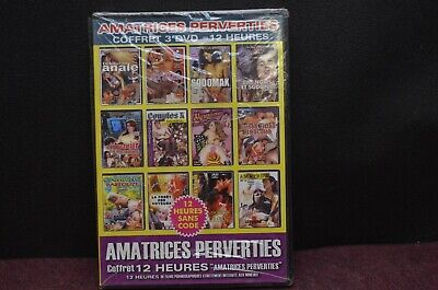 DVD POUR ADULTE amatrices perverties neuf sous blister 12 heures 4 films