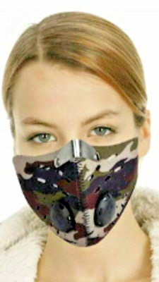 Military design MASK Anti Dust Pollution Smog Reusable Allergy Mouth Face