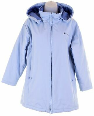 CHAMPION Girls Windbreaker Jacket 13-14 Years Blue  GL11