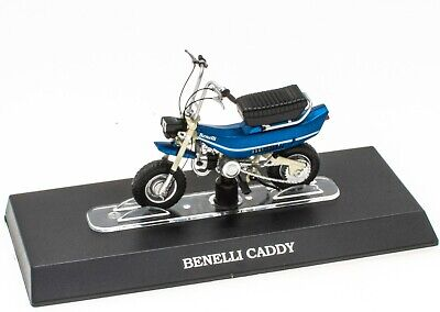 Mobylette BENELLI CADDY 1/18 Leo Models Miniature Scooter Moto M026