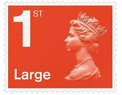 Royal Mail 1st Class Large Letter Postage Stamp Brand New