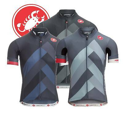 "TWO Colors Castelli Cento Men/'s /""Relaxed Fit/"" Cycling Jersey"