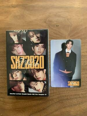 Stray kids SKZ2020 HAN photo card +  cassette tape  set of 2 ofiicial STAY