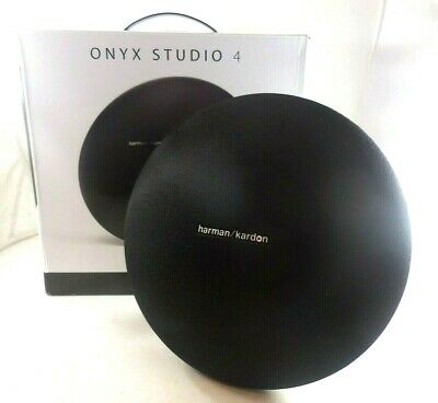 Harman Kardon Onyx Studio 4 Portable Bluetooth Speaker  HKOS4BLKBSG ( WITH ISSUE