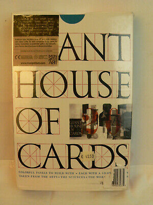 Giant Eames House of Cards by Eames Office NEU in Folie eingeschweißt