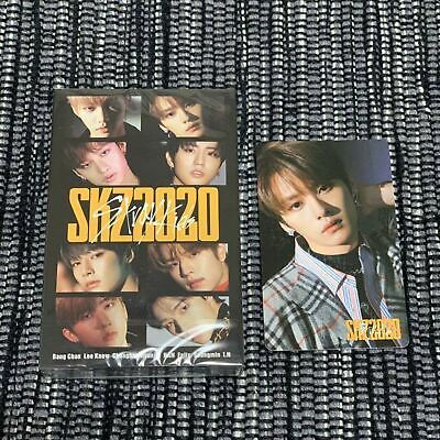 Stray kids SKZ2020 Leeknow photo card +  cassette tape  set of 2 ofiicial STAY