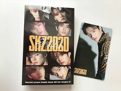 Stray kids SKZ2020 Hyunjin photo card +  cassette tape  set of 2 ofiicial STAY