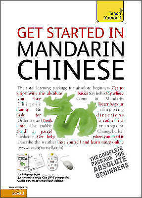 Get Started in Mandarin Chinese: Teach Yourself (Book/CD Pack) by Scurfield, El