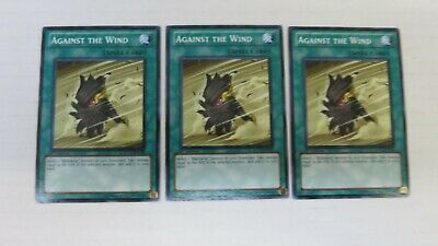 Against the Wind DP11-EN018 Common 3 x Yu-Gi-Oh Card Playset 1st Edition