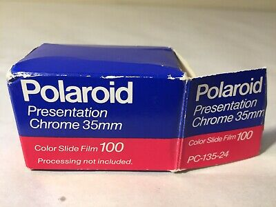 Polaroid Presentation Chrome 35mm Color Slide Film 100 - 24 Exposure - Exp 10/93