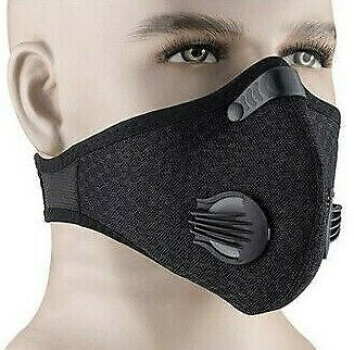 Dustproof Bike Pollution Allergy Asthma Reusable Mouth Face Cover Breathable