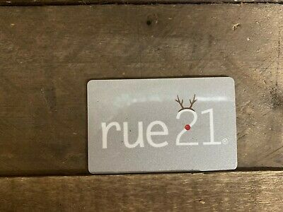 Rue21 Gift Cards w/ $50 Value ACTIVATED Physical Card Will Be Shipped