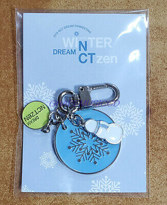 Nct Dream Fanmeeting Winter Dreamctzen Goods Metal Key Ring + Photocard New