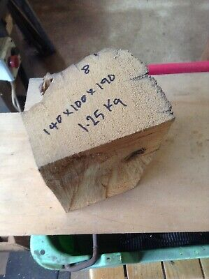 Huon Pine Blank for Turning, Carving or Cut Down to Smaller Item Use, Great Size