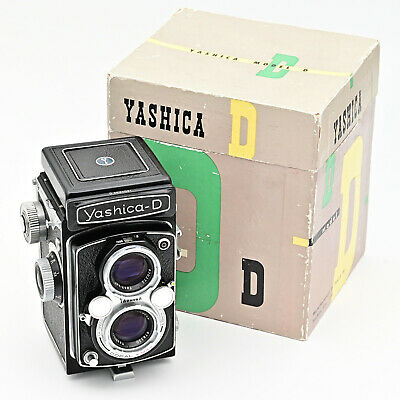Yashica D Twin Lens TLR 120 6x6 Film Camera. ***MINT IN BOX***