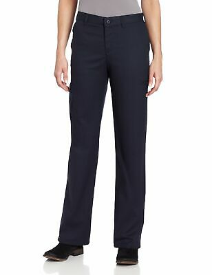 Dickies Womens Cargo Pants Navy Blue Size 4 Relaxed Fit Straight Leg $48- 561