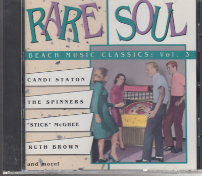 Rare Soul: Beach Music Classics, Vol. 3 by Various Artists (CD, Apr-1992, Rhino